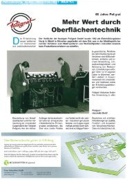 Focus Rostfrei - 60 Jahre POLIGRAT (PDF) - POLIGRAT GmbH