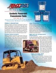 CT - Synthetic Powershift Transmission Fluids - Synpsg