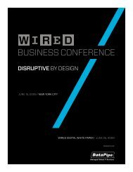BUSINESS CONFERENCE - Wired