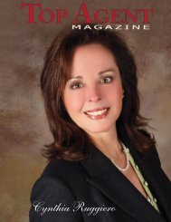 Cynthia Ruggiero - Top Agent Magazine