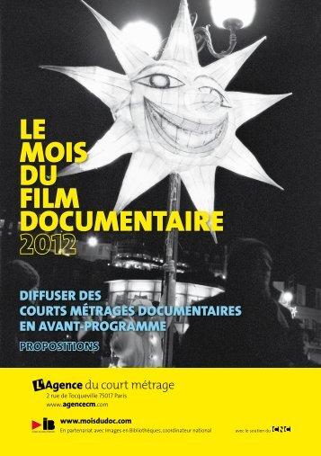PDF : Programme - Le Mois du Film Documentaire