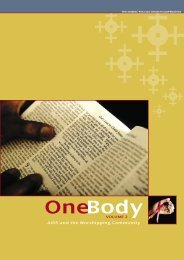 One Body, English, Vol. 2 (pdf) - Norges Kristne Råd