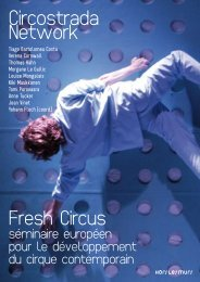 Compte rendu Fresh Circus 2008 - Circostrada Network