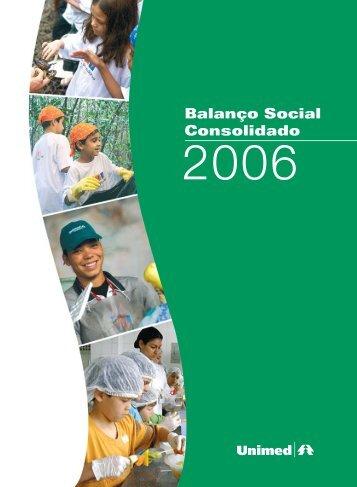 Balanço Social Consolidado - Unimed do Brasil