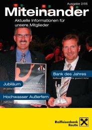 Mitgliederzeitung 2/2005 zum Download - Raiffeisen