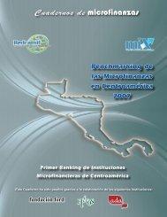 Benchmarking de las Microfinanzas en Centroamérica 2007