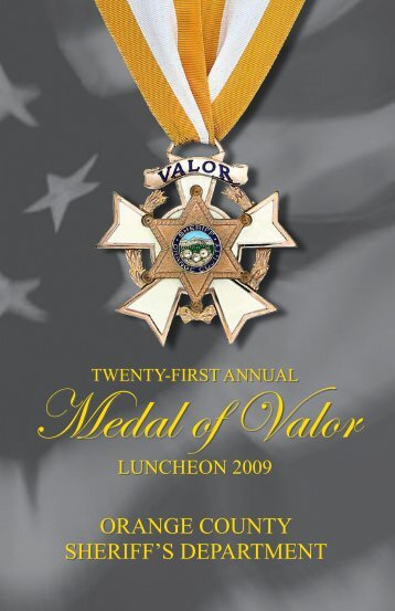 Medal of Valor - OC Public Libraries - Orange County