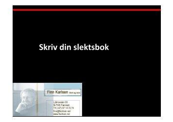Finn Karlsen - DIS-Norge