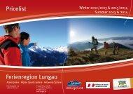 General information - Ferienregion Lungau