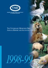 Annual Report 1998/1999 - Veterinary Medicines Directorate