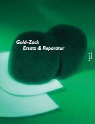 Gold-Zack Ersatz & Reparatur