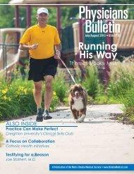 Running His Way - Metro Omaha Medical Society