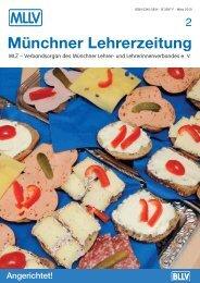 MLZ-Ausgabe Nr. 2 - 2010 - MLLV - Bayerischer Lehrer