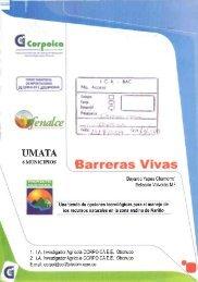 Barreras Vivas - Corpoica