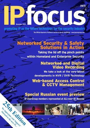 IPfocus-eZine Nov 09 - IP UserGroup