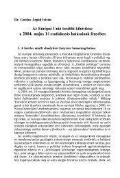 Az Európai Unió további kibővítése a 2004. május 1-i csatlakozás ...