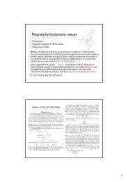 Magnetohydrodynamic waves