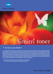 Simitri Polymerised Toner (Pdf)