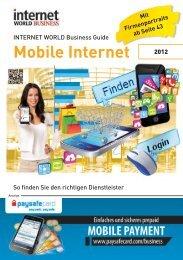 Mobile Internet - Internet World Business