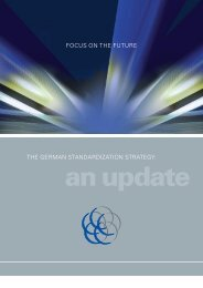 The German Standardization Strategy: an update - European ...