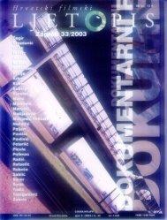 33/2003 - Hrvatski filmski savez