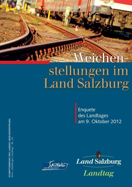 Weichen- stellungen im Land Salzburg - JBZ-Arbeitspapiere