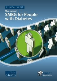 The role of SMBG for People with Diabetes - Bpac.org.nz