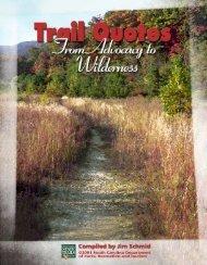 Trail Quotes - SC Trails Program