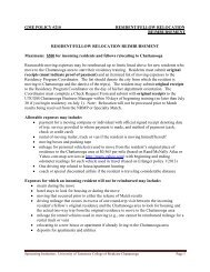 GME POLICY #210 RESIDENT/FELLOW RELOCATION ...