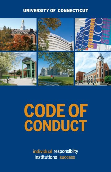 Code of Conduct - University of Connecticut Office of Audit ...