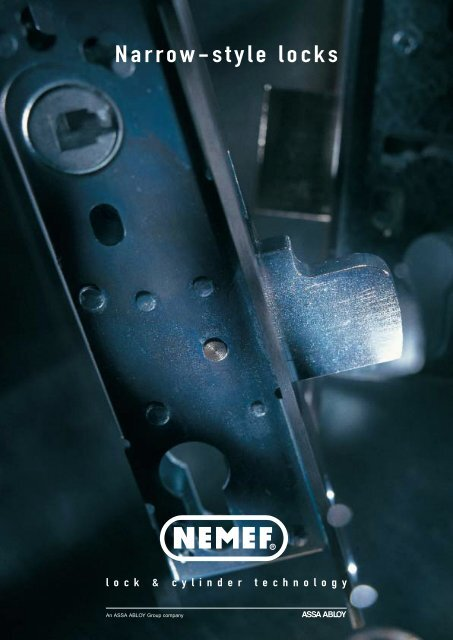 Narrow-style locks - FAB