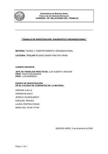 Modelo Metodológico: - Carrera de Relaciones del Trabajo-facultad ...