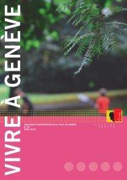Magazine Vivre à Genève n° 50 - Ville de Genève