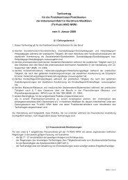TV-Prakt AWO NRW - Arbeitgeberverband AWO Deutschland eV