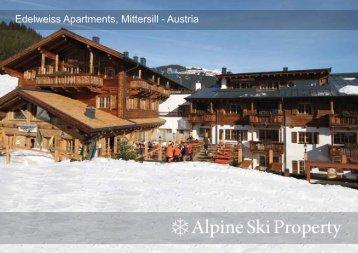 Edelweiss Apartments, Mittersill - Austria - Alpine Ski Property