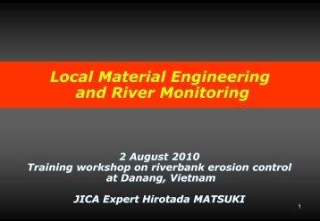 riverbank protection - International Flood Network