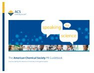 The American Chemical Society PR Guidebook