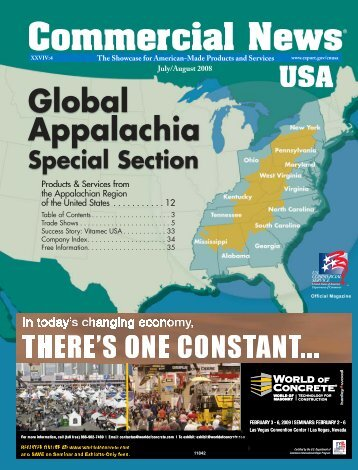 July/August 2008 issue - Commercial News USA