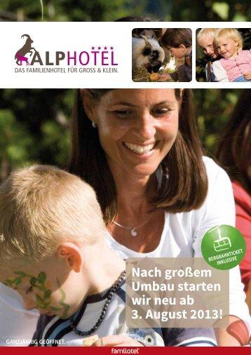 Prospekt Downloaden - Alphotel