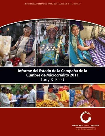 Informe del Estado de la Campaña de la Cumbre de Microcrédito ...