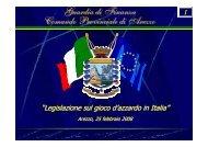 Guardia di Finanza Comando Provinciale di Arezzo - Ce.Do.S.T.Ar.