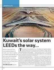 Kuwait's solar system LEEDs the way...