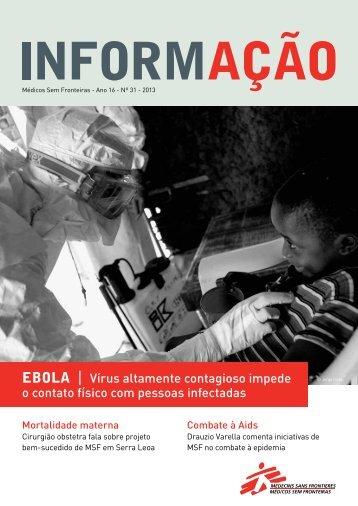 Ebola - Médicos Sem Fronteiras