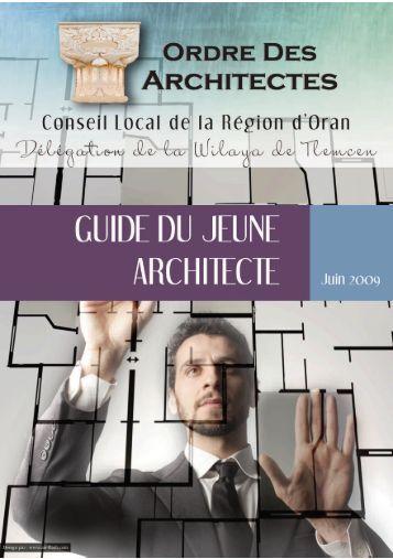 Guide du Jeune Architecte - Conseil national de l'Ordre des ...