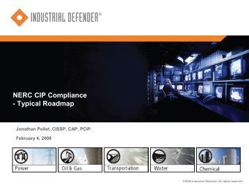 NERC CIP Compliance - Typical Roadmap