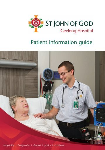 A guide for patients - St John of God Health Care