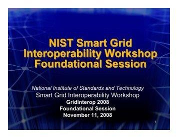 NIST_GI08_Foundation Session Slides_final[1] - Open Smart Grid ...