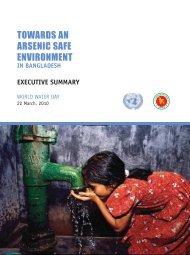 Towards an Arsenic Safe Environment in Bangladesh - Unicef