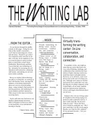 23.2 - The Writing Lab Newsletter