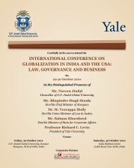 JGU in collaboration with the Yale University invites you to be a part ...